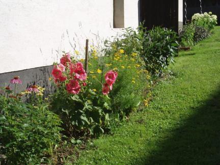Blumenzeile