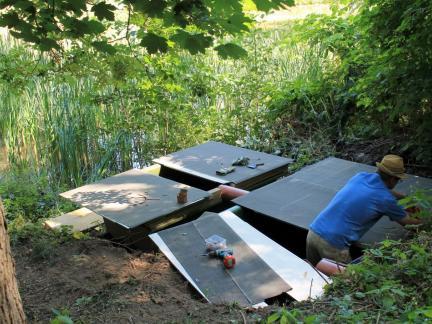 Im August: Sanierung der Hälterbecken