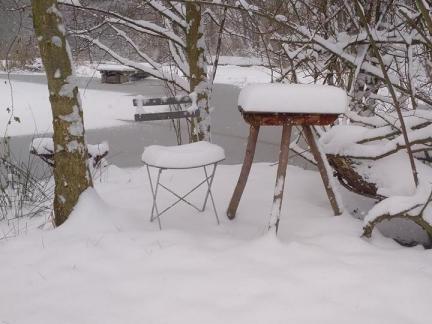 Schnee - Mitte Dezember 18