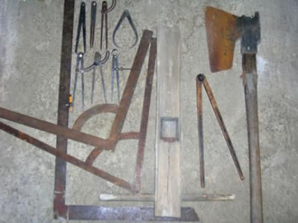 Zimmermannswerkzeug