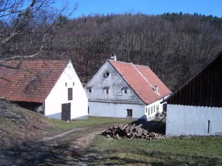 Ansicht Getreidespeicher, Stadl und Wohnhaus (2005)