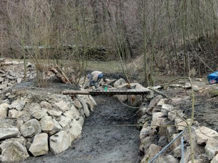 Feber 17, neue Brücke zur Insel