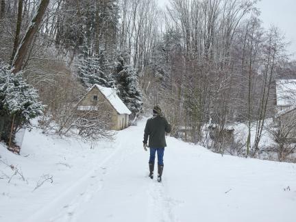 Feber 18 - der Schnee kommt!
