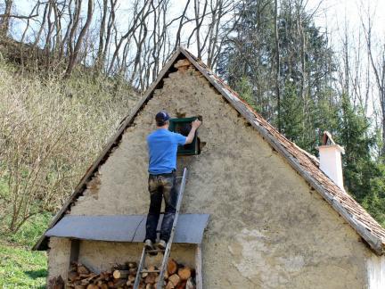 Neue Fenster - alte Schmiede und auch am Dachboden
