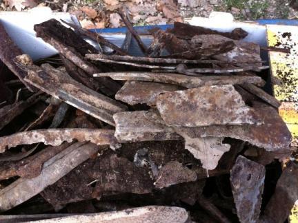 Altes Eisen rund um die Schmiede