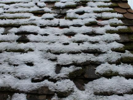 Der einzige Schnee zum Jahresende 2015!
