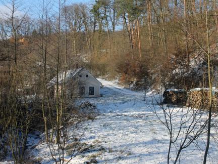 Erster Schnee kurz nach Weihnachten