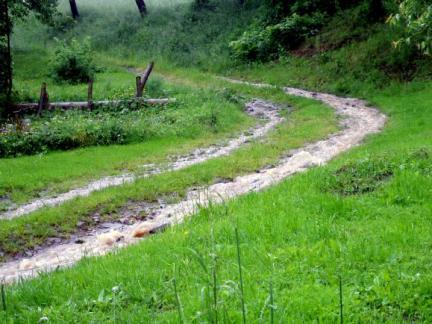 Regenfälle im Mai