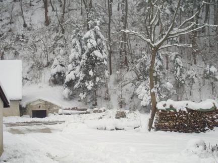 Strenger Winter im Dezember